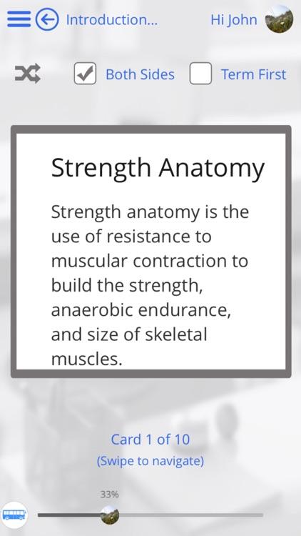 Human Body Anatomy & Strength Anatomy by GoLearningBus screenshot-3