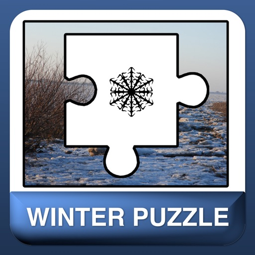 A beautiful winter and snow puzzle