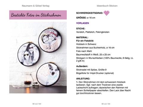 """Ideenbuch Sticken - Mit Stickmustern zum Download"""" von Annemarie ..."""