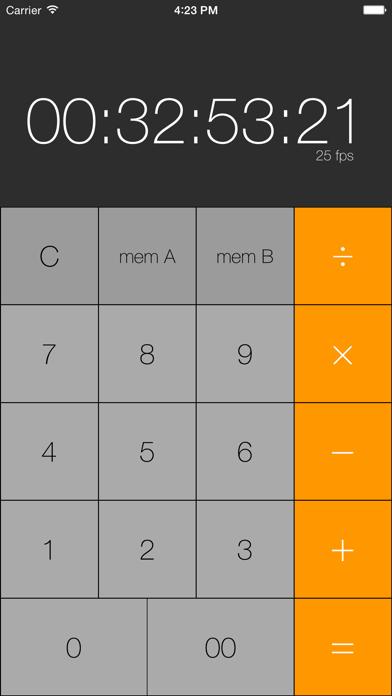 Simple Timecode Calculatorのおすすめ画像4