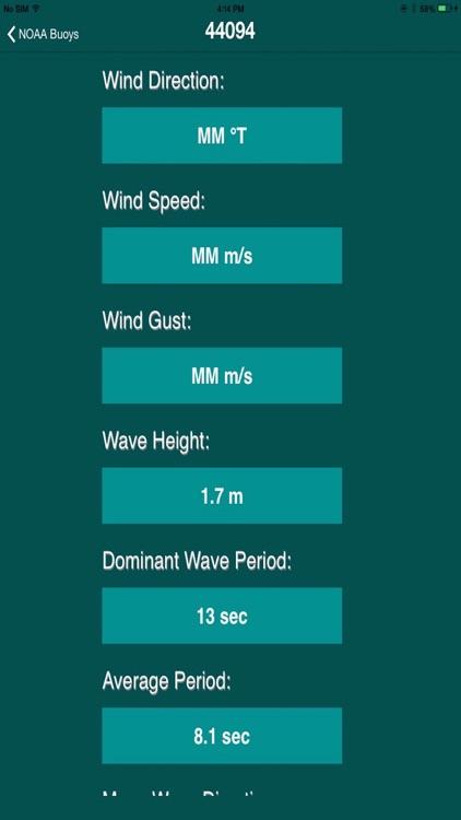 Buoys Stations Data from NOAA screenshot-4
