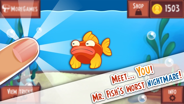 Don't Tap the Glass! Game of the Cranky and Moody Fish screenshot-1
