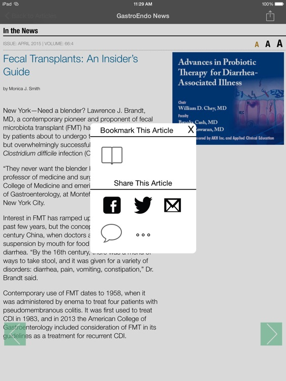 Gastroenterology & Endoscopy News screenshot-3