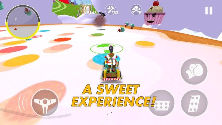 Nitro Punch Car Game screenshot-3
