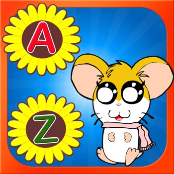 ABCs Small Letter Learing for Hamtaro Version