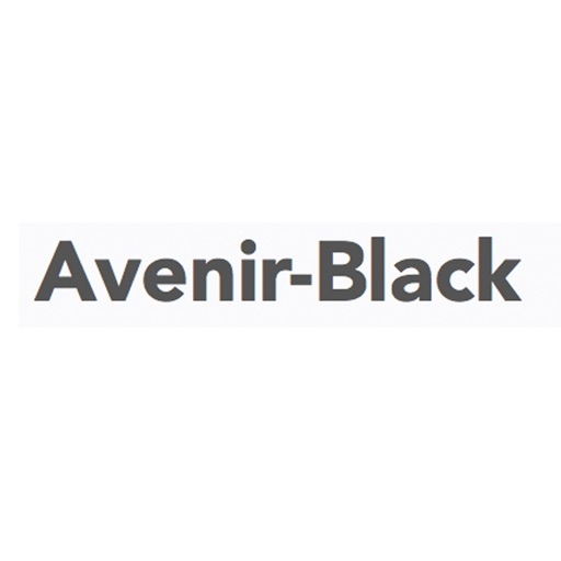 Keyboard of Avenir Font: Artistic Style Keys for iOS 8