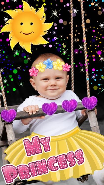 My Little Princess Photo Booth- Fairy tale dress up editor for girls screenshot-4
