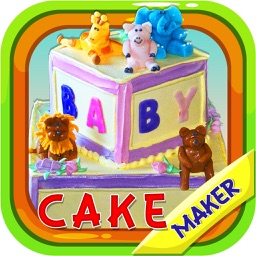 Baby Block Cake Maker - Make a cake with crazy chef bakery in this kids cooking game