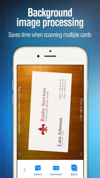 Business Card Reader screenshot-3