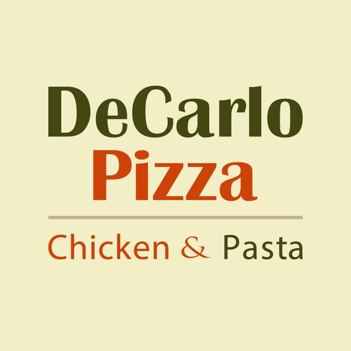 DeCarlo Pizza Chicken & Pasta