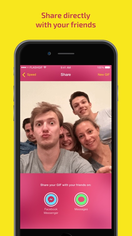 Flash Gif: Create animated pictures screenshot-3