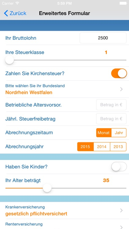 Nettolohn.de screenshot-2