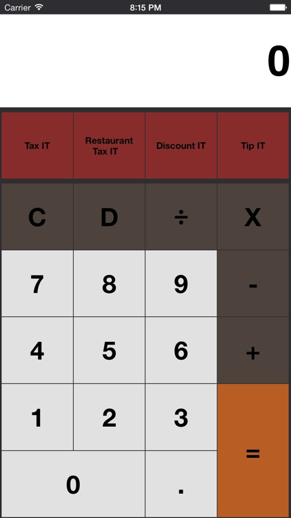 Tax It - Sales Tax and Discount Calculator