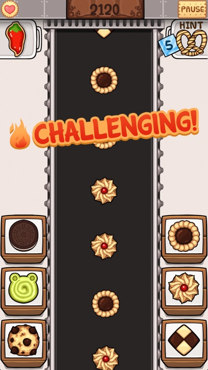 Cookie Factory Packing - The Cookie Firm Management Game