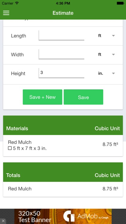 Mulching Calculator - FREE screenshot-3