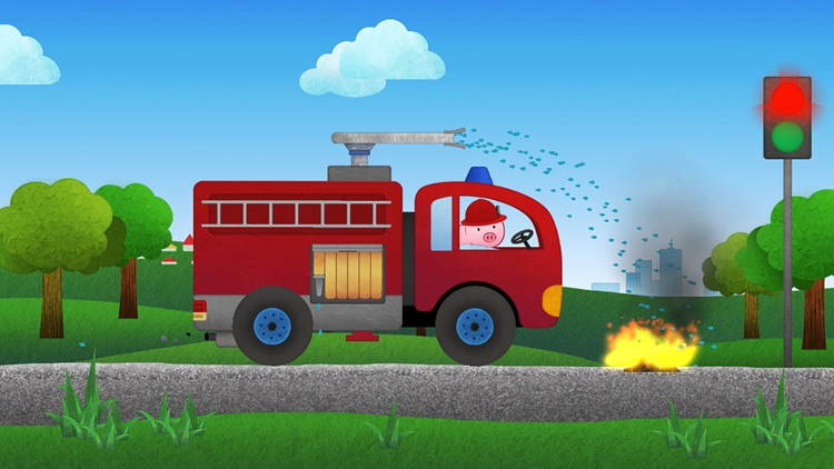 Vroom! Cars and Trucks for Kids screenshot-3