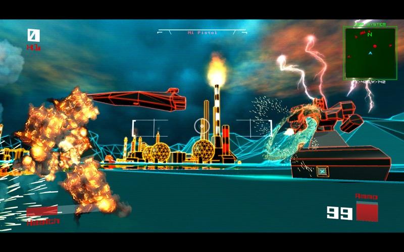 Screenshot #3 pour Vektor Wars