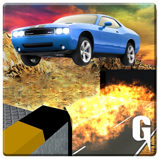 Car Stunts 3D Simulator - Extreme jet speed crazy sports driving game Icon