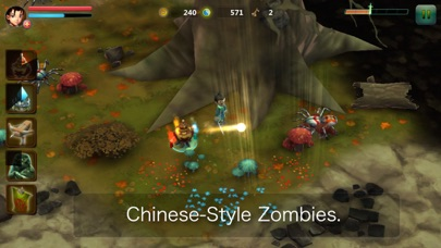 Chinese Zombies Free screenshot three