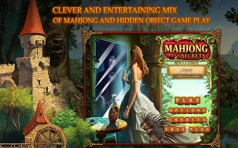 Mahjong Secrets screenshot 1