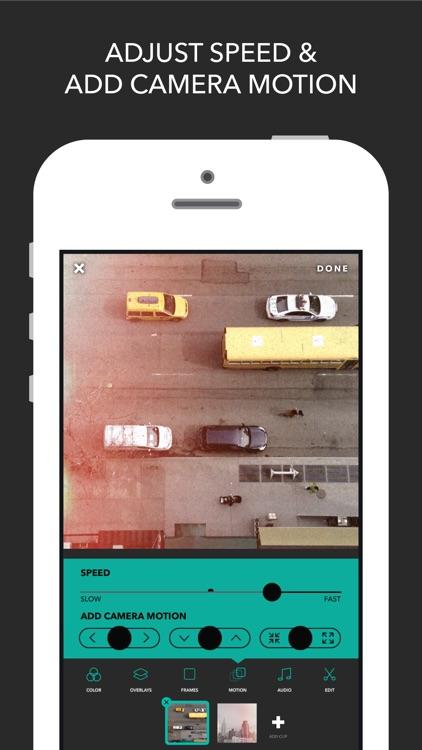 Videohance - Video Editor, Filters screenshot-3