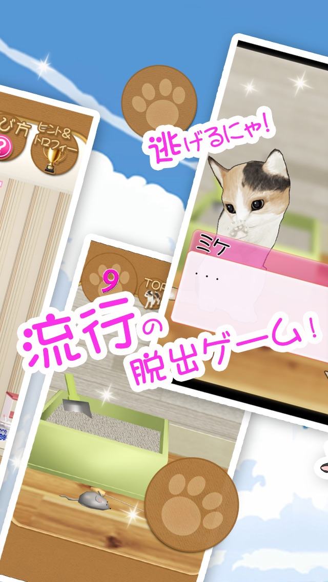 脱出ゲーム 猫が逃げた夏。紹介画像3