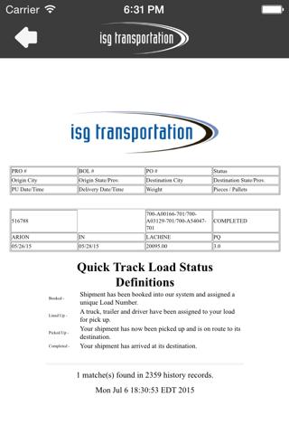 ISG Transportation - náhled