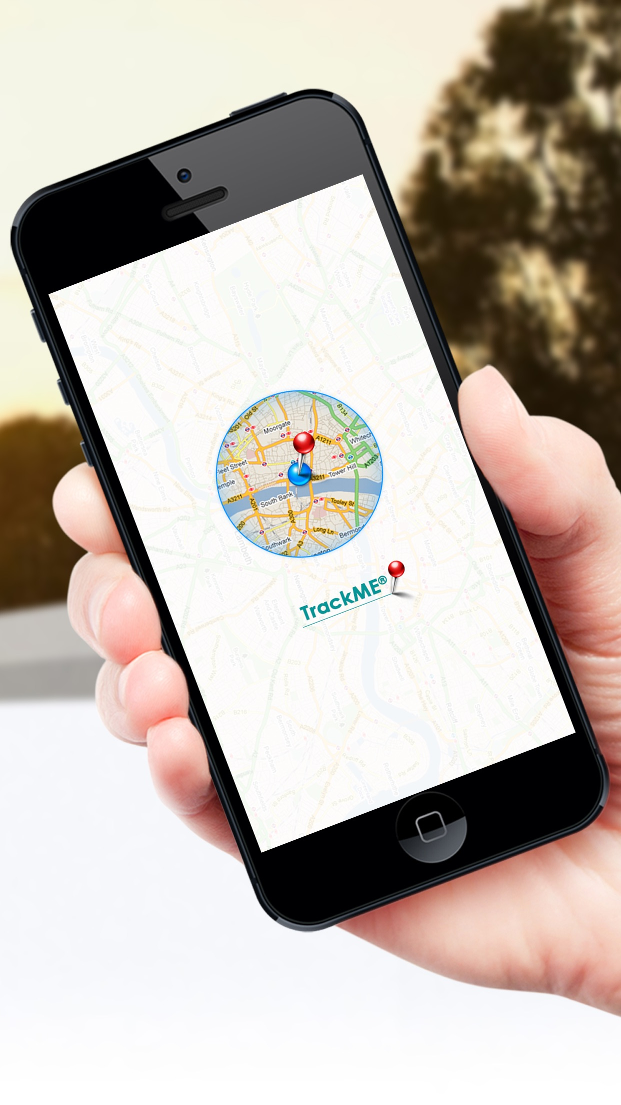 TrackMe ® Screenshot