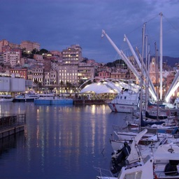 Genoa Tour Guide: Maps with Street View and Emergency Help Info
