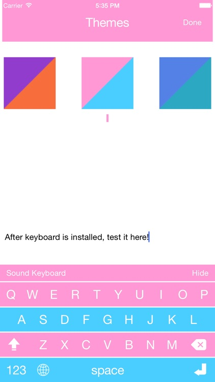 Keyboard Sound - Customize Typing, Clicks Tone, Color themes screenshot-4