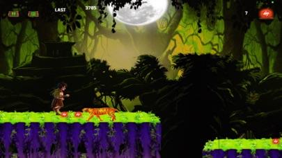 Jungle Kid Adventure Run - Dark Fantasy screenshot two