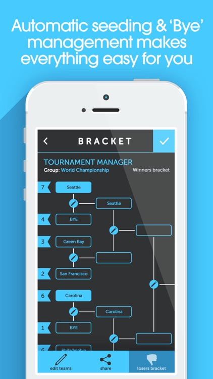 My Bracket + Tournament Manager for Amateur Sports