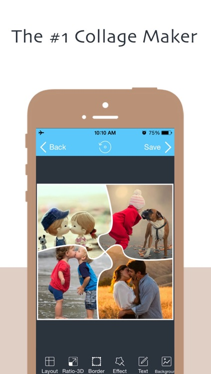 MiFrame - Collage Maker & FX Editor & Photo Frame from InstaCollage FREE