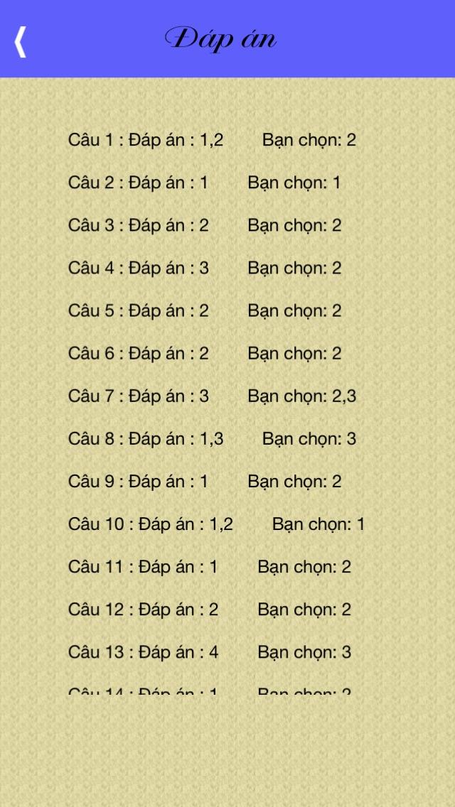 download Thi sát hạch GPLX-15 đề - 450 câu apps 0