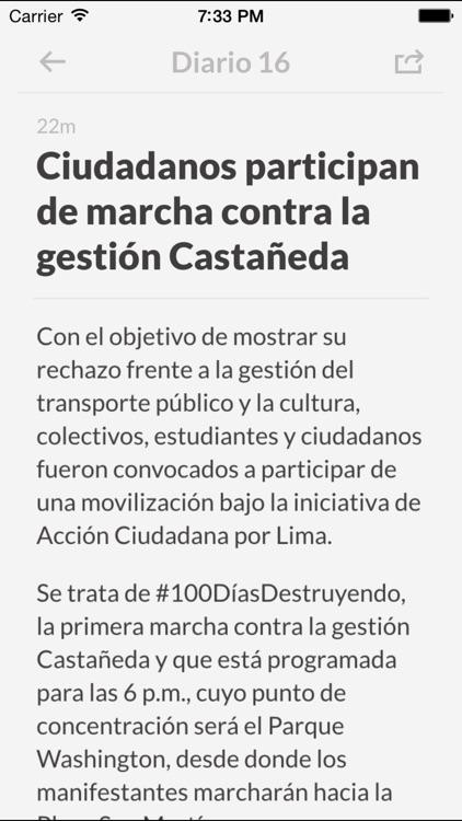 Periódicos PE - Los mejores diarios y noticias de la prensa en Peru screenshot-3