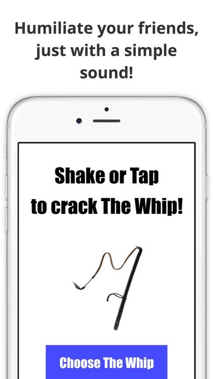 The Whip Sound App Original screenshot-3
