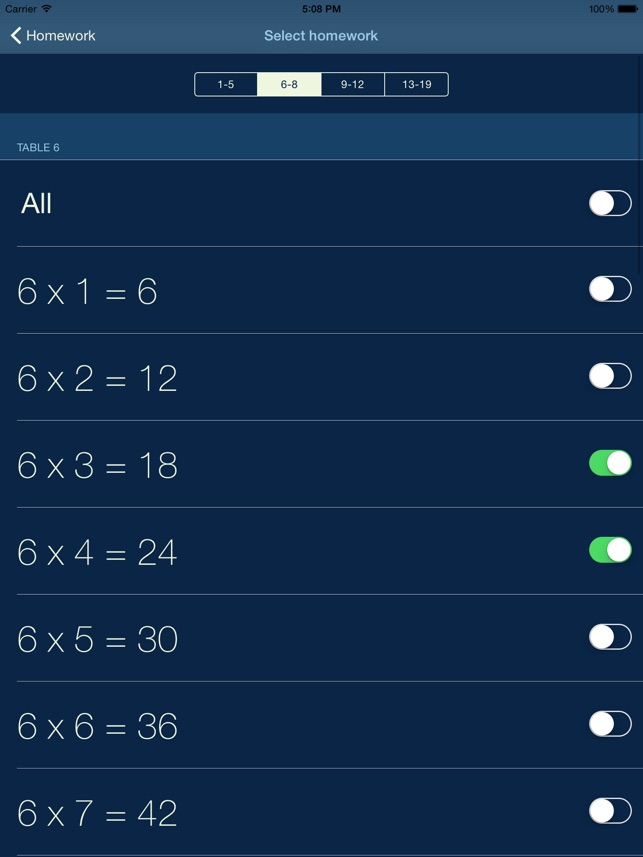 My Multiplication - times tables Screenshot