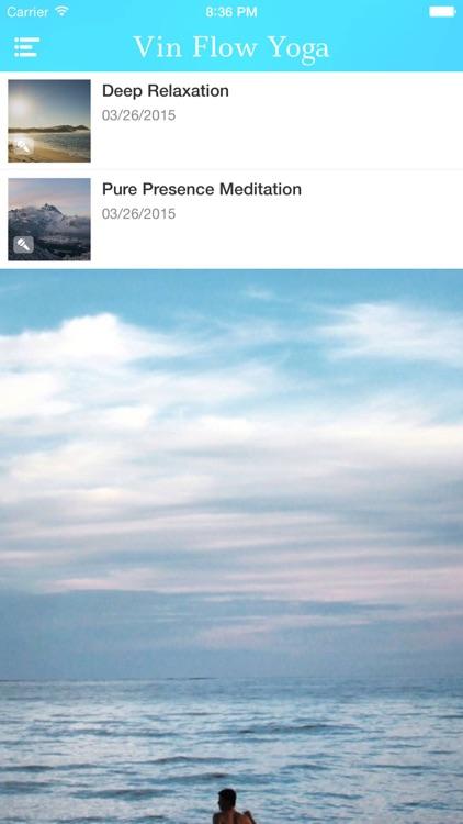 Vinyasa Flow Yoga, Beginner VideoApp with Christina Pedersen screenshot-3
