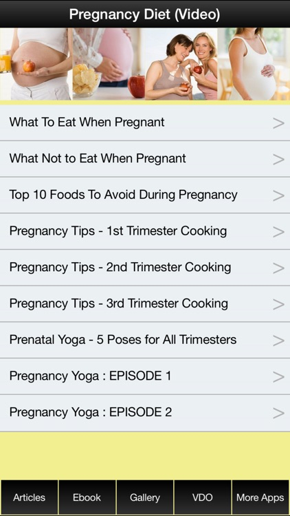 Pregnancy Diet Plan - Have a Fit & Healthy Pregnancy ! screenshot-3