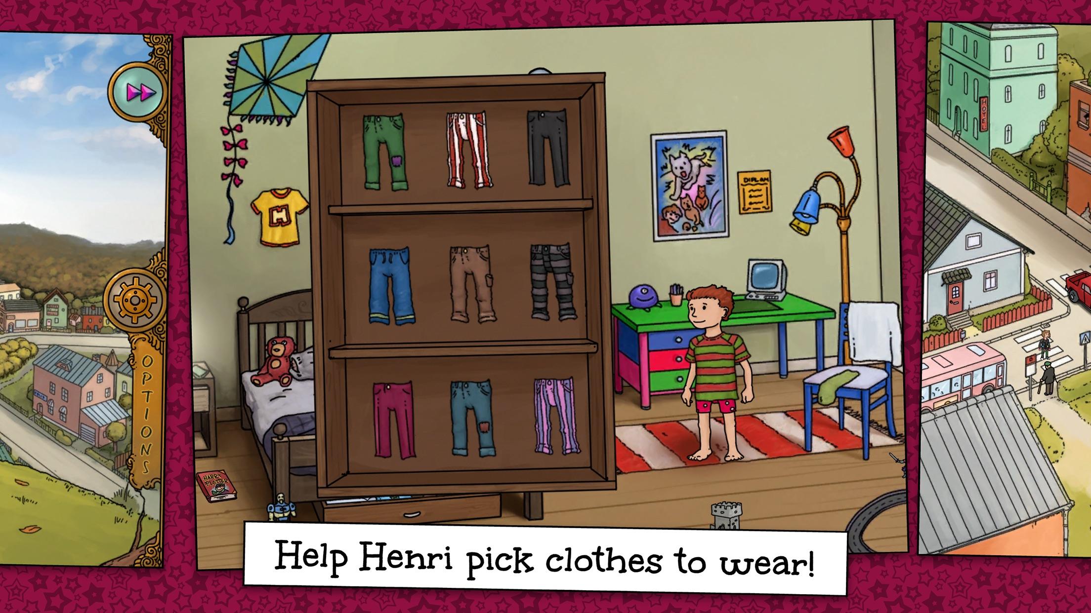Screenshot do app Hanna & Henri - The Party
