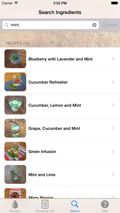 Infused Water Recipesのおすすめ画像3