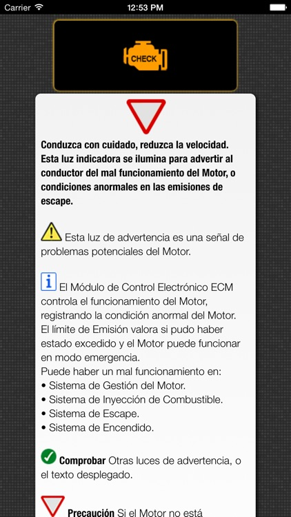 Honda Luces Advertencia y Honda Problemas con Asistencia vial screenshot-4