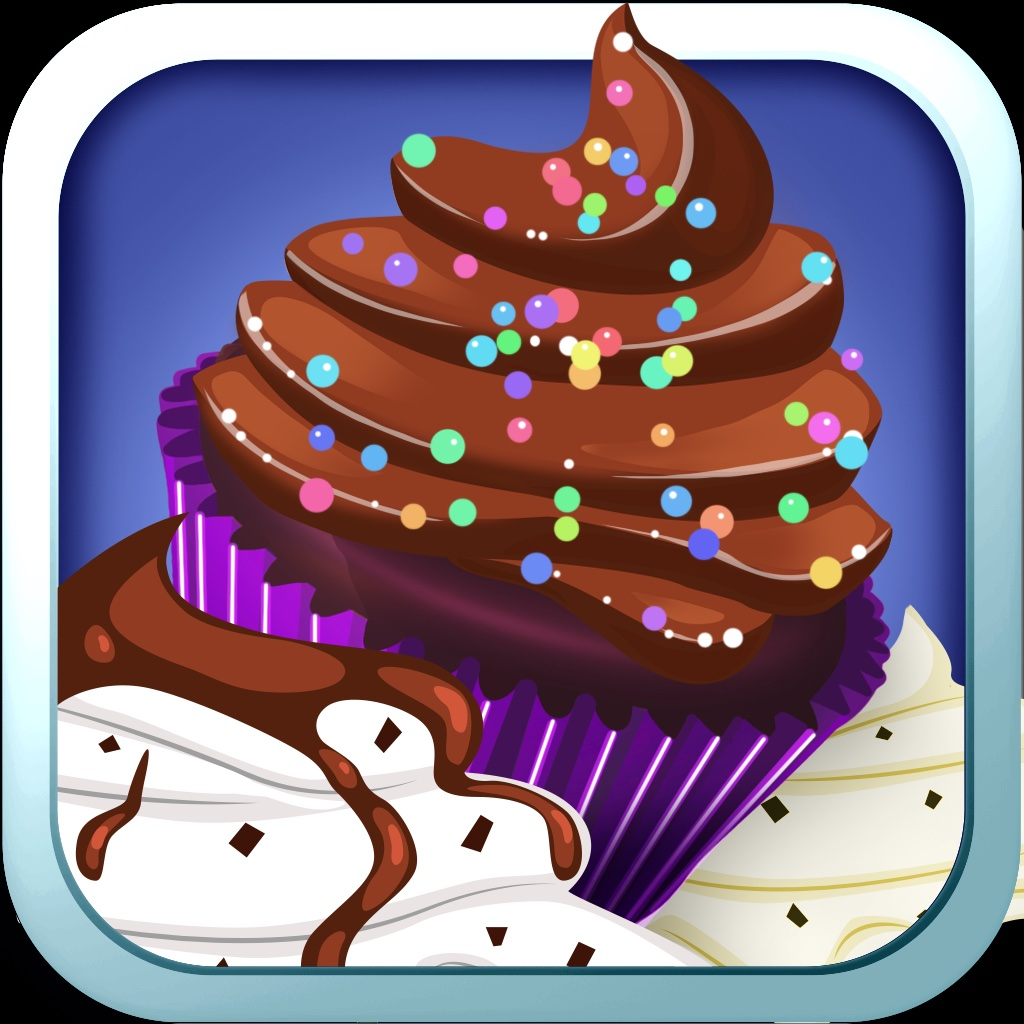 Awesome Delicious Cupcake Dessert Chef Bakery icon