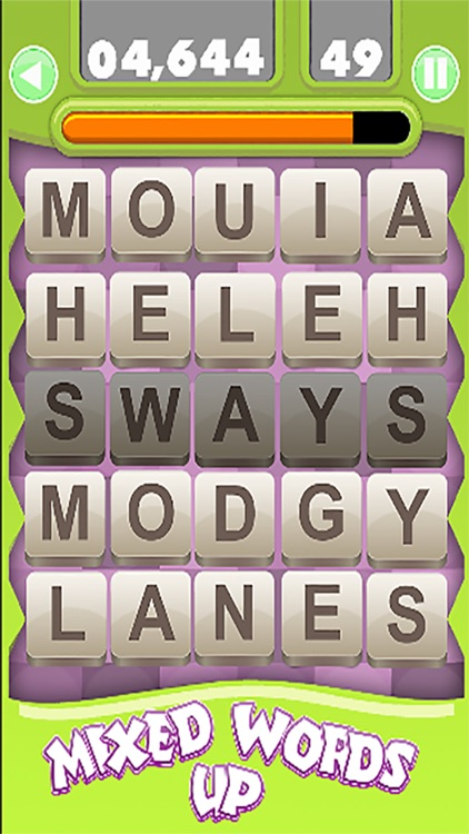 mixed up words the 5 letters scrambling game screenshot 2