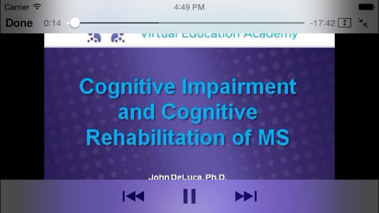 Multiple Sclerosis Virtual Education Academy