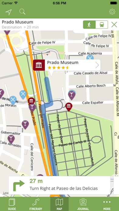 Screenshot for Madrid Travel Guide (with Offline Maps) - mTrip in Greece App Store