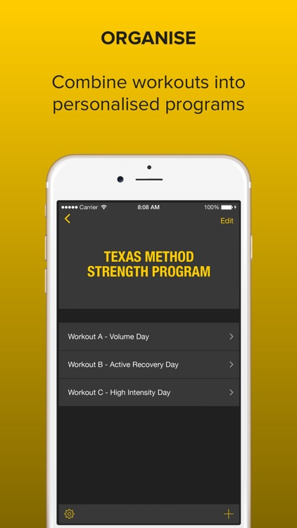 Strongr: Training Log for Weight Lifting and Strength Workouts screenshot-3