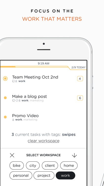 Swipes - To do & Task list. Plan & Achieve goals.