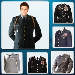 Military Suit Photo Montage