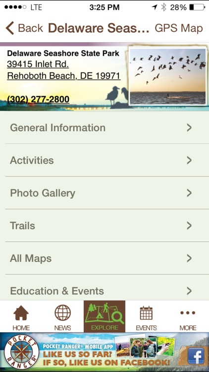 Delaware State Parks Guide- Pocket Ranger® screenshot-4